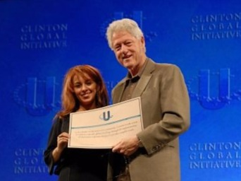 President Clinton at CGI University