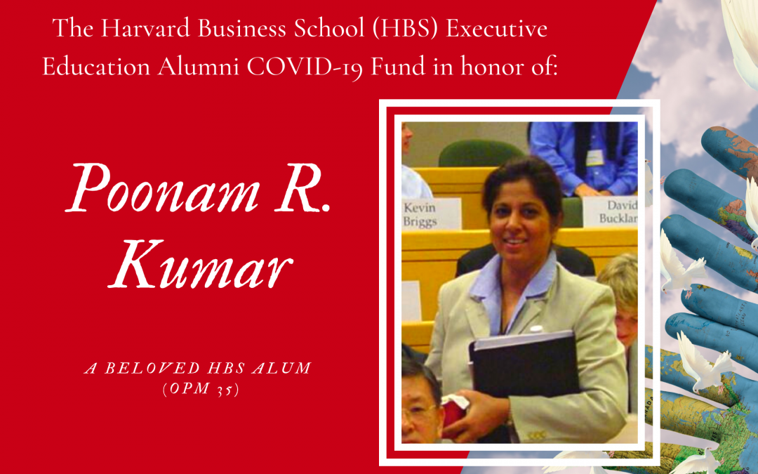 Great Impact in Honor of Poonam R. Kumar